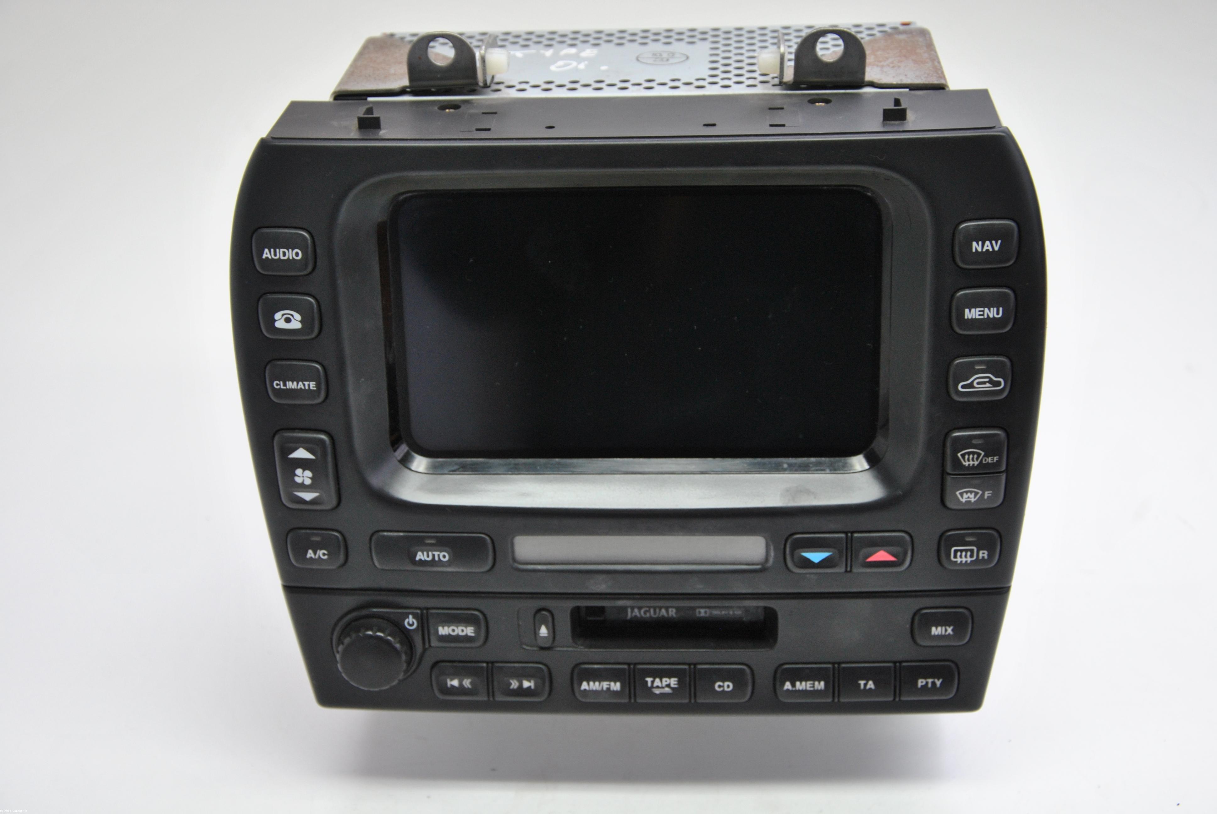 jaguar x type 2001 music player with navigation system 1x4310e889be 462200 5143 ebay. Black Bedroom Furniture Sets. Home Design Ideas