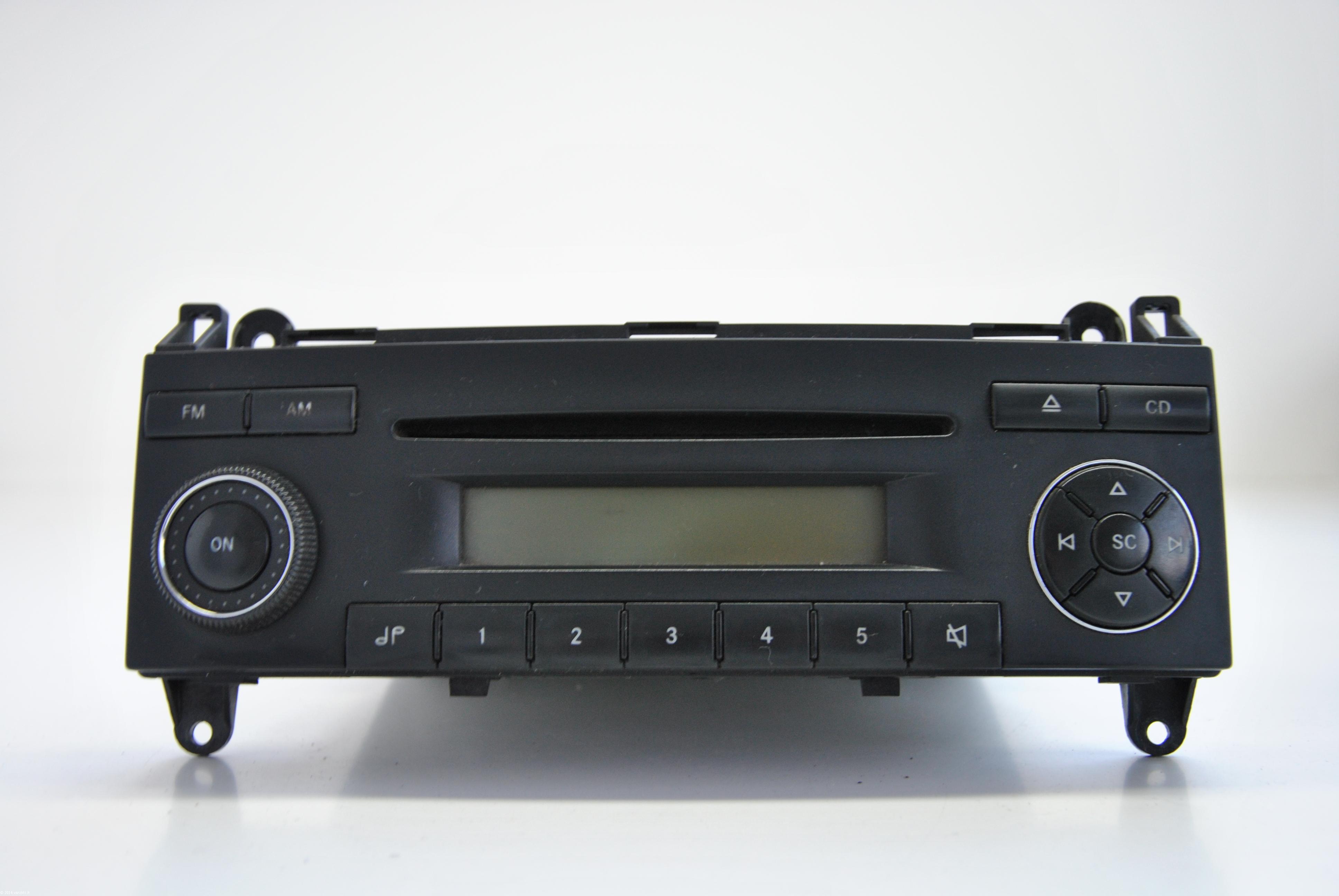 Mercedes benz sprinter 2007 becker cd player head unit for Mercedes benz cd player
