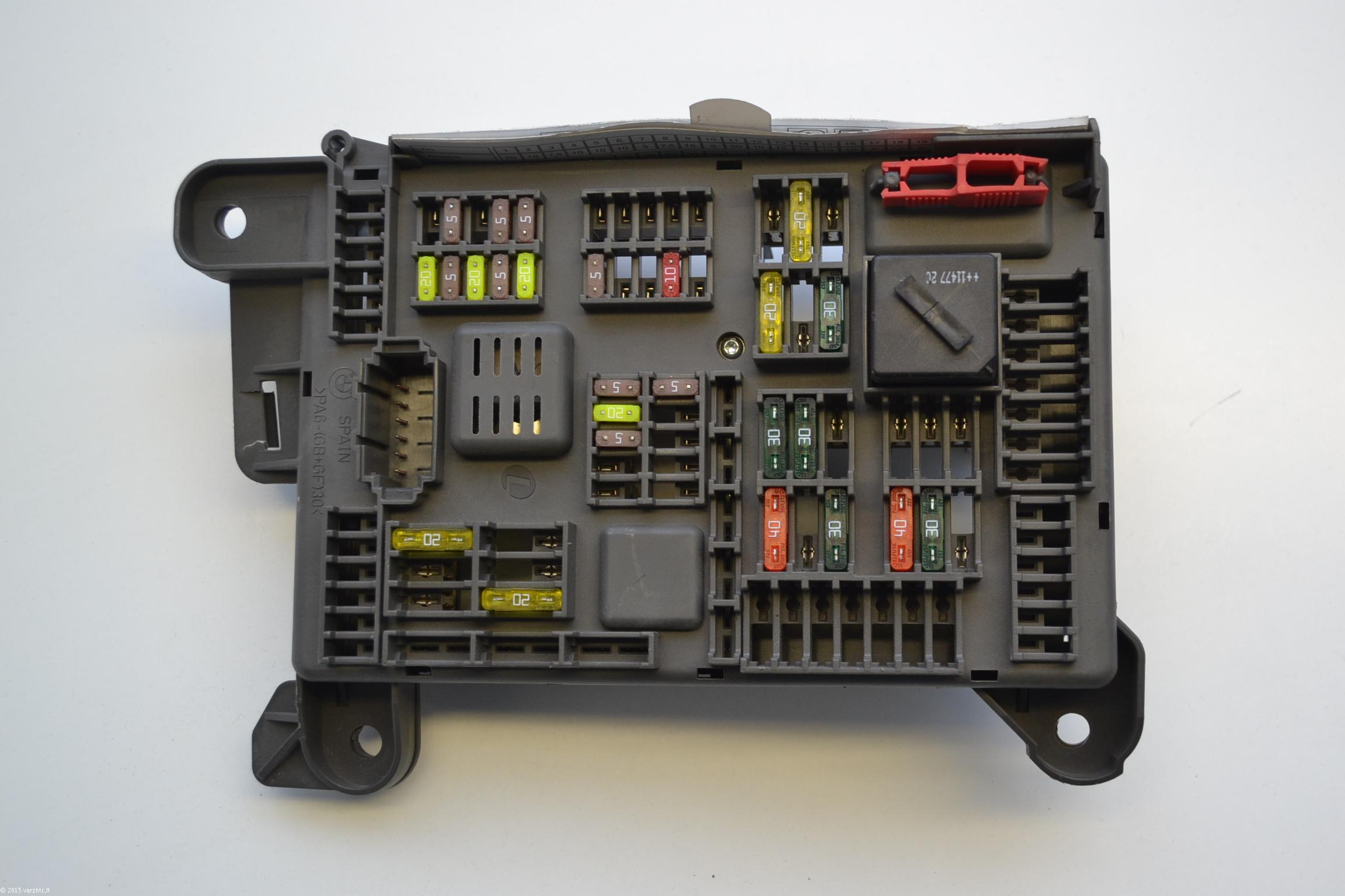 Bmw X5 E70 2011 Fuse Box Board Module 518954021a