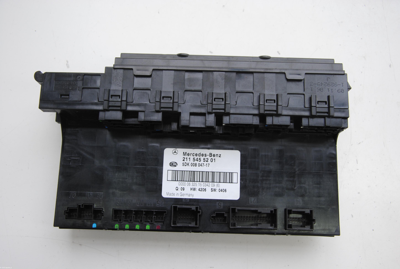 mercedes benz e class w fuse box board module