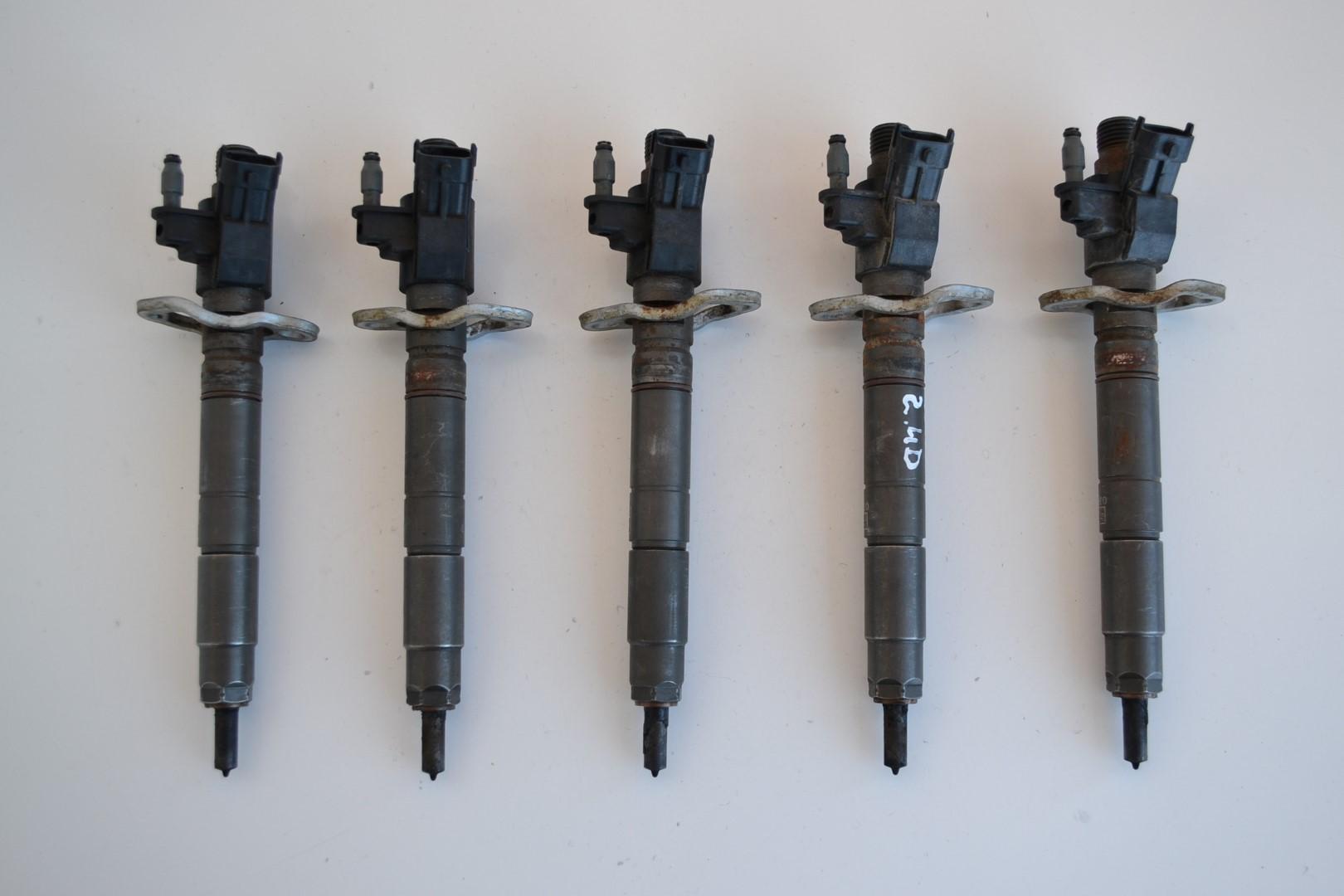 volvo v70 2 4 d5 2010 diesel fuel injector set kit 5x. Black Bedroom Furniture Sets. Home Design Ideas