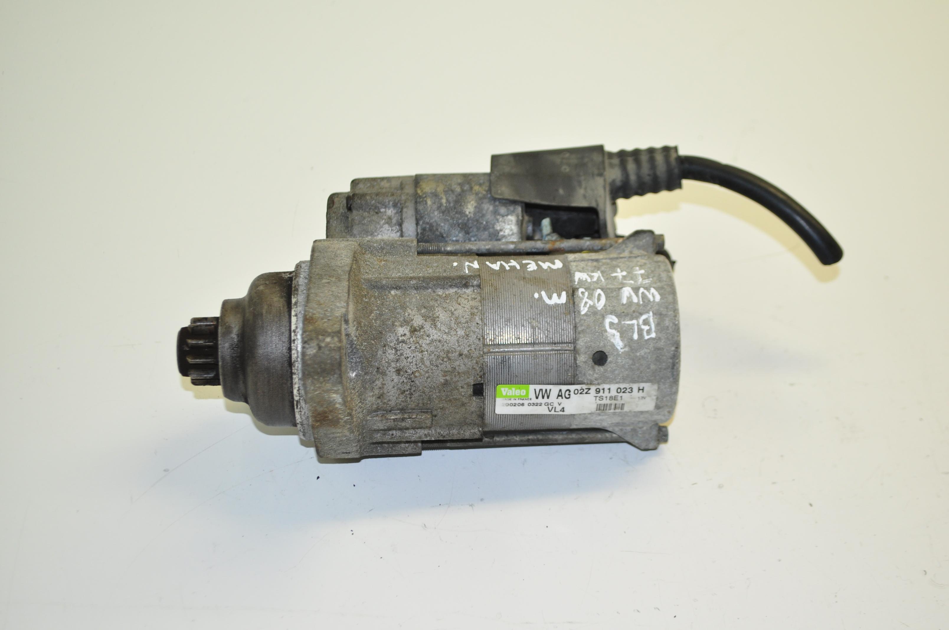 volkswagen vw caddy 1 9 diesel engine 2008 starter motor. Black Bedroom Furniture Sets. Home Design Ideas