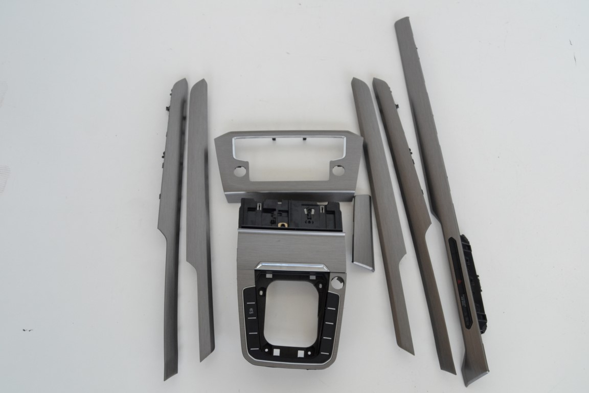 vw passat b8 2015 rhd complete interior trim kit set brushed aluminium ashtray ebay