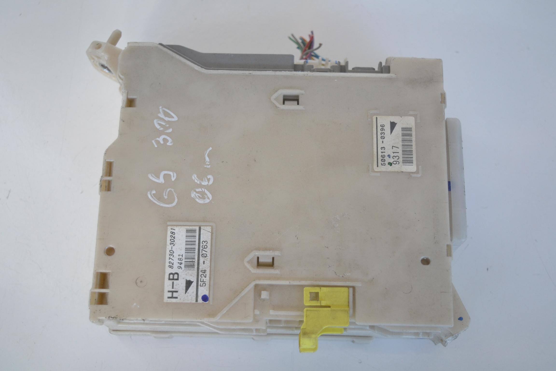 1629322 lexus gs iii 2006 rhd interior side fuse box 82730 30281 82672  at reclaimingppi.co
