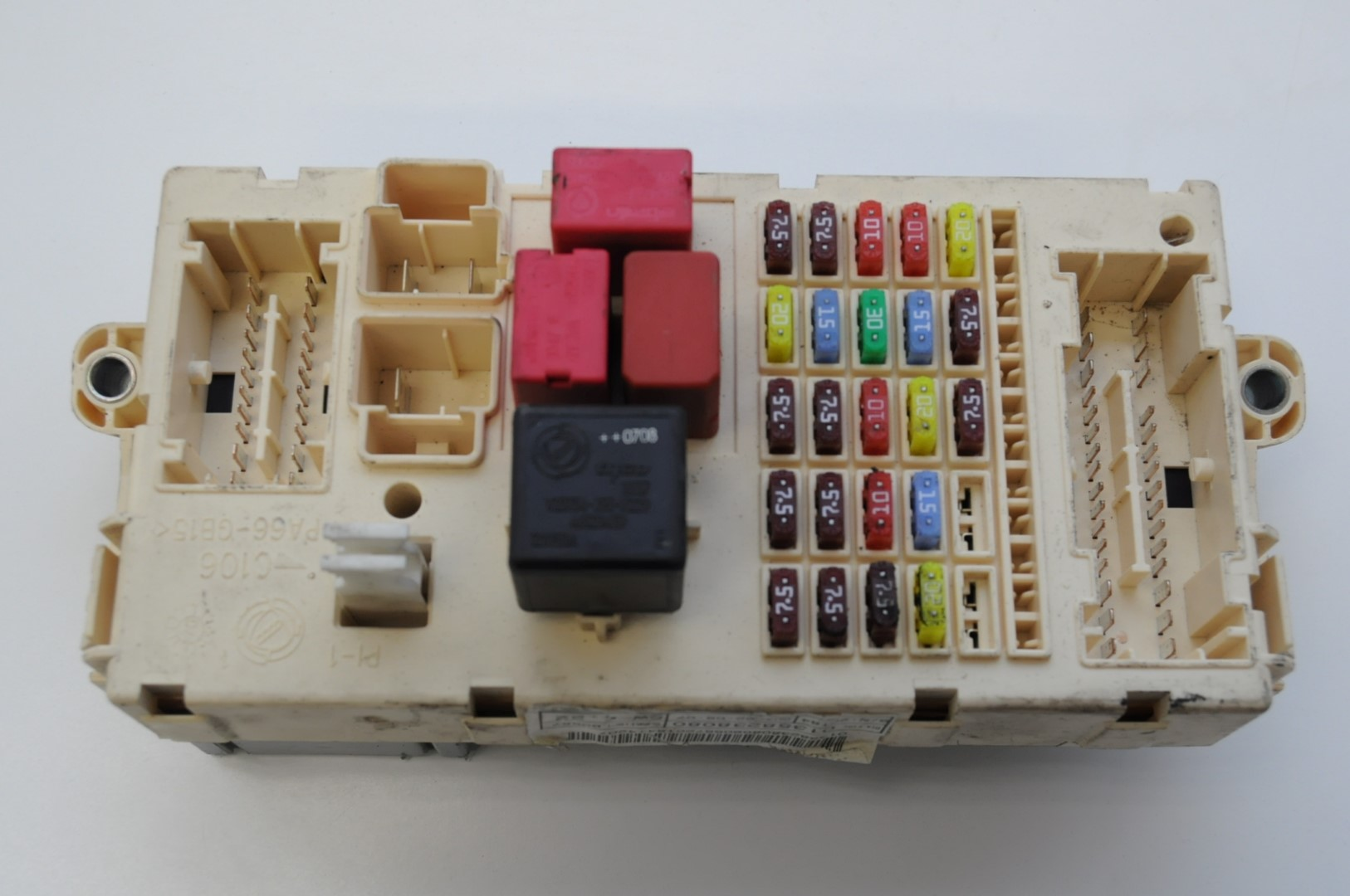 Citroen Jumper Fuse Box : Citroen jumper hdi lhd fuse box board