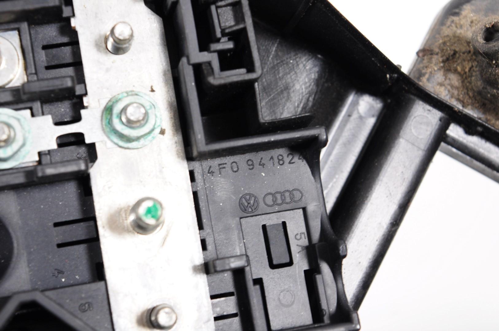 Audi A6 C6 4f 20 Tdi Avant 2006 Rhd Engine Bay Fuse Box 4f0941824 1995 2 0
