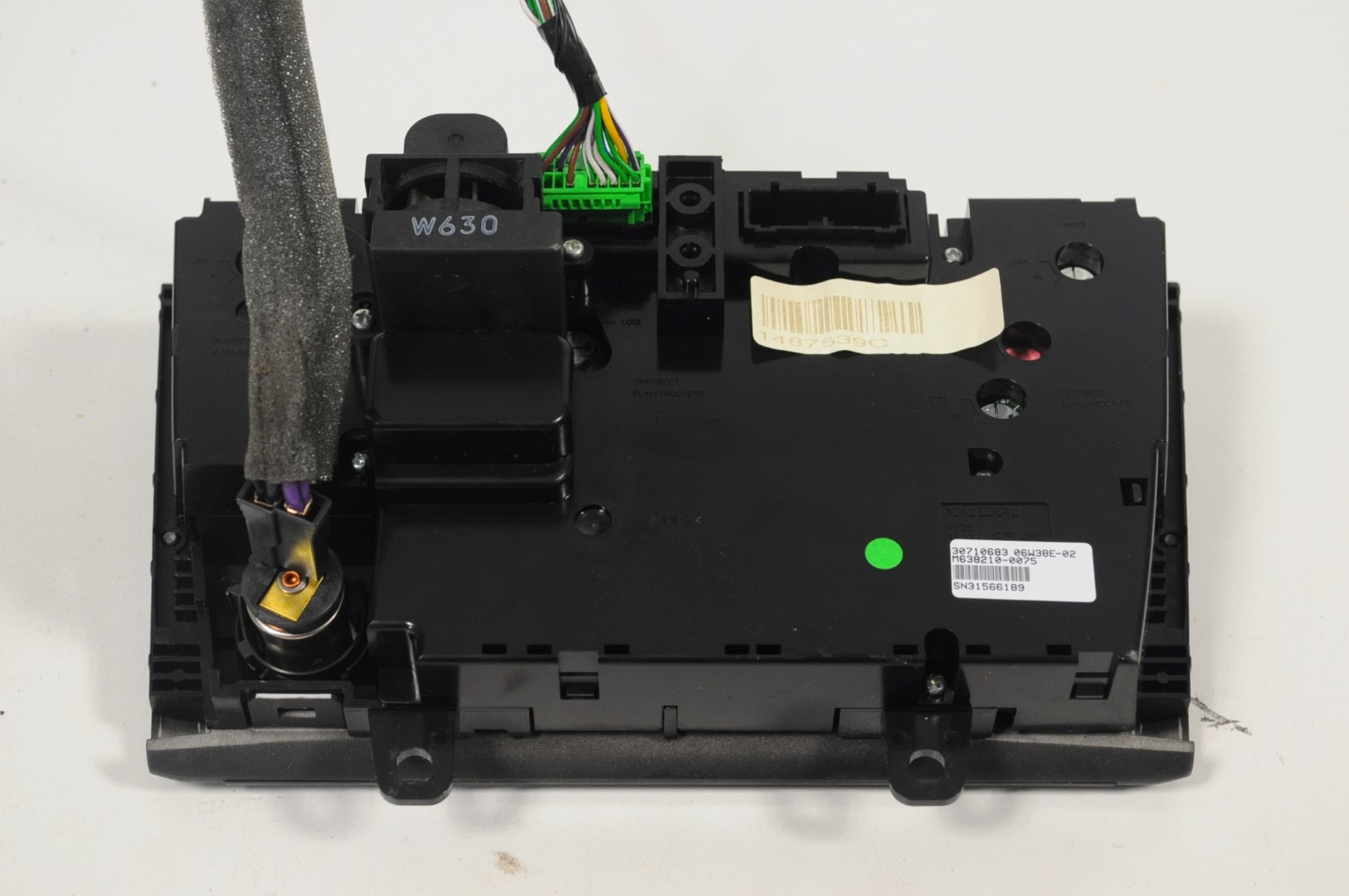 VOLVO-XC90-4-4-V8-2006-LHD-A-C-CLIMATE-CONTROL-SWITCH-PANEL-30710683