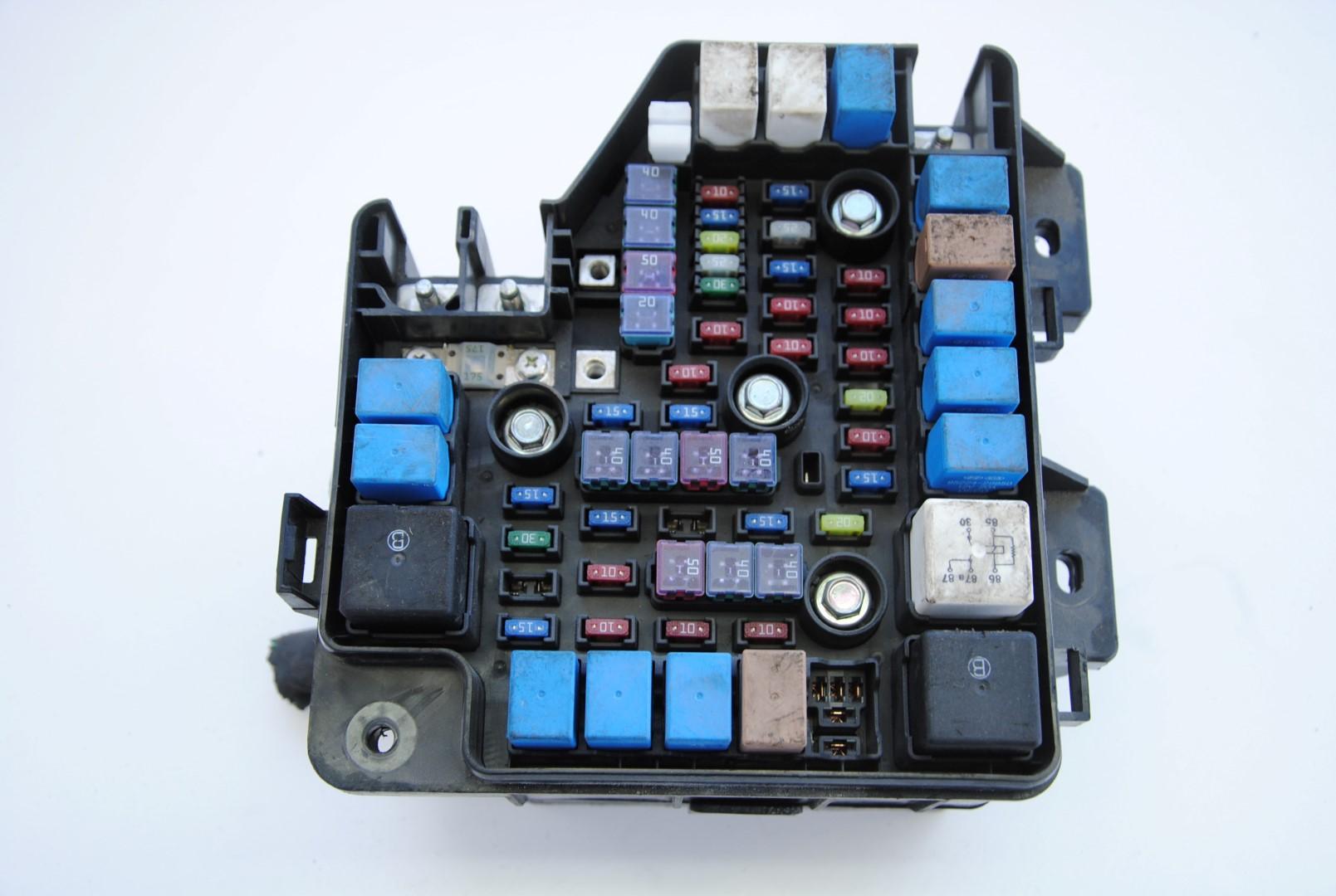 2010 jaguar xf fuse box relay unit module ebay. Black Bedroom Furniture Sets. Home Design Ideas