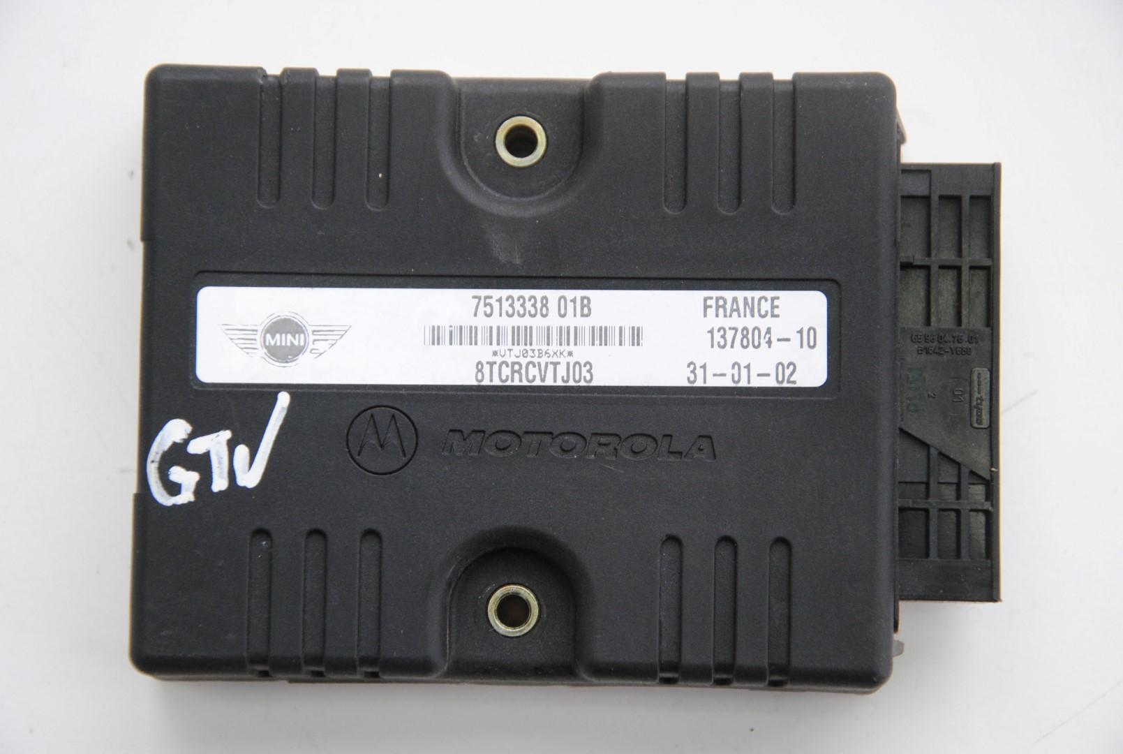 2005 mini cooper rhd front right door control module for 01333 door control module