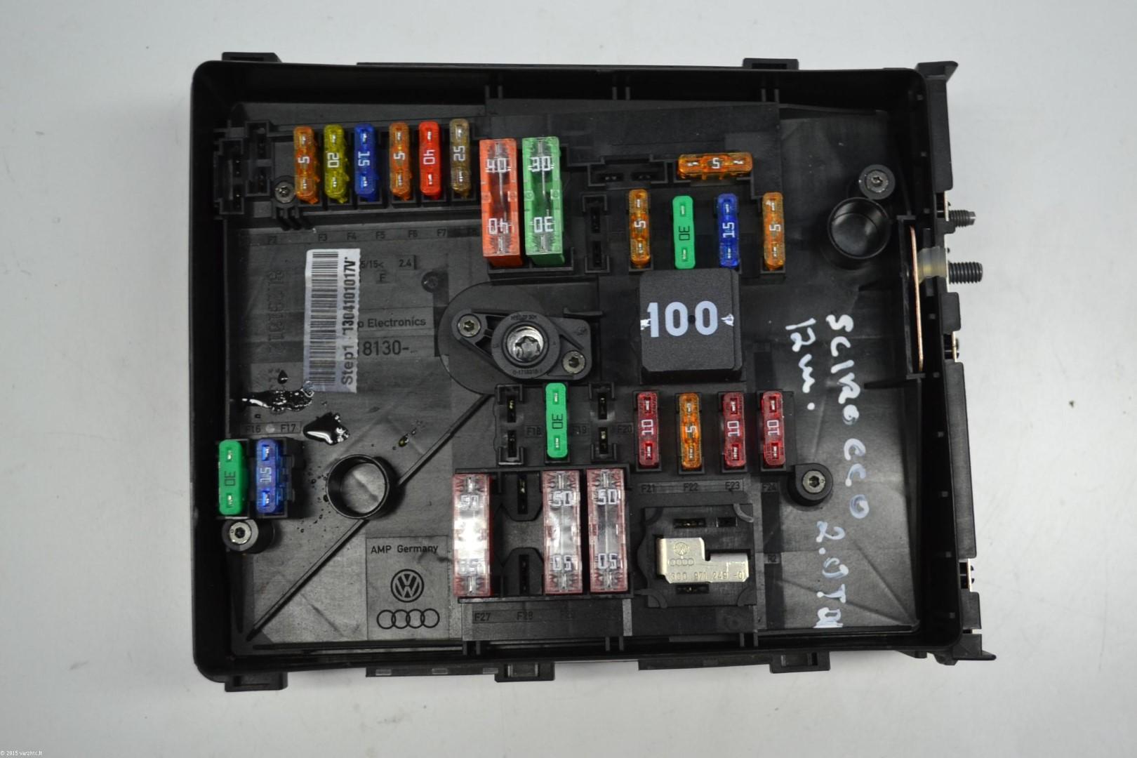 Vw Scirocco 2012 Rhd Engine Bay Fuse Box 1k0937629a