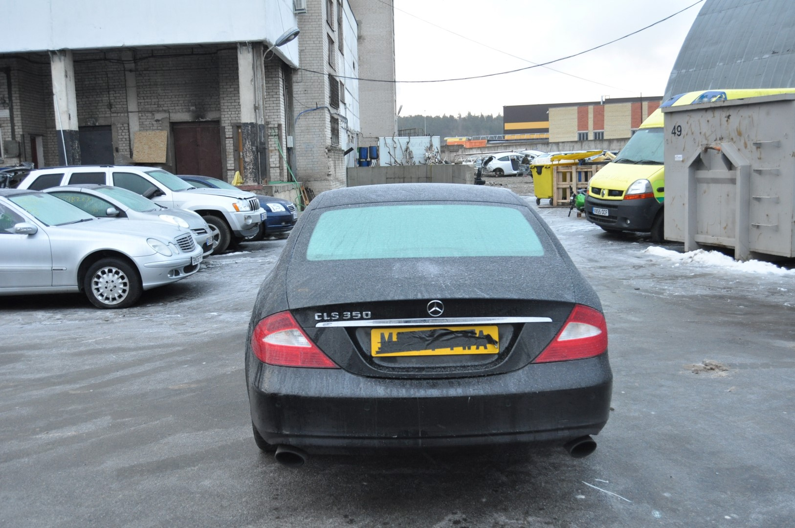 Mercedes benz cls c219 2005 rhd tailgate boot lid left for Mercedes benz parts by vin number