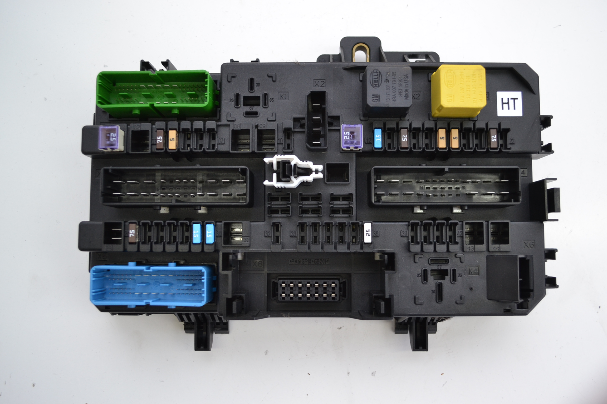 opel vauxhall astra h 2008 1 8 petrol fuse box comfort. Black Bedroom Furniture Sets. Home Design Ideas