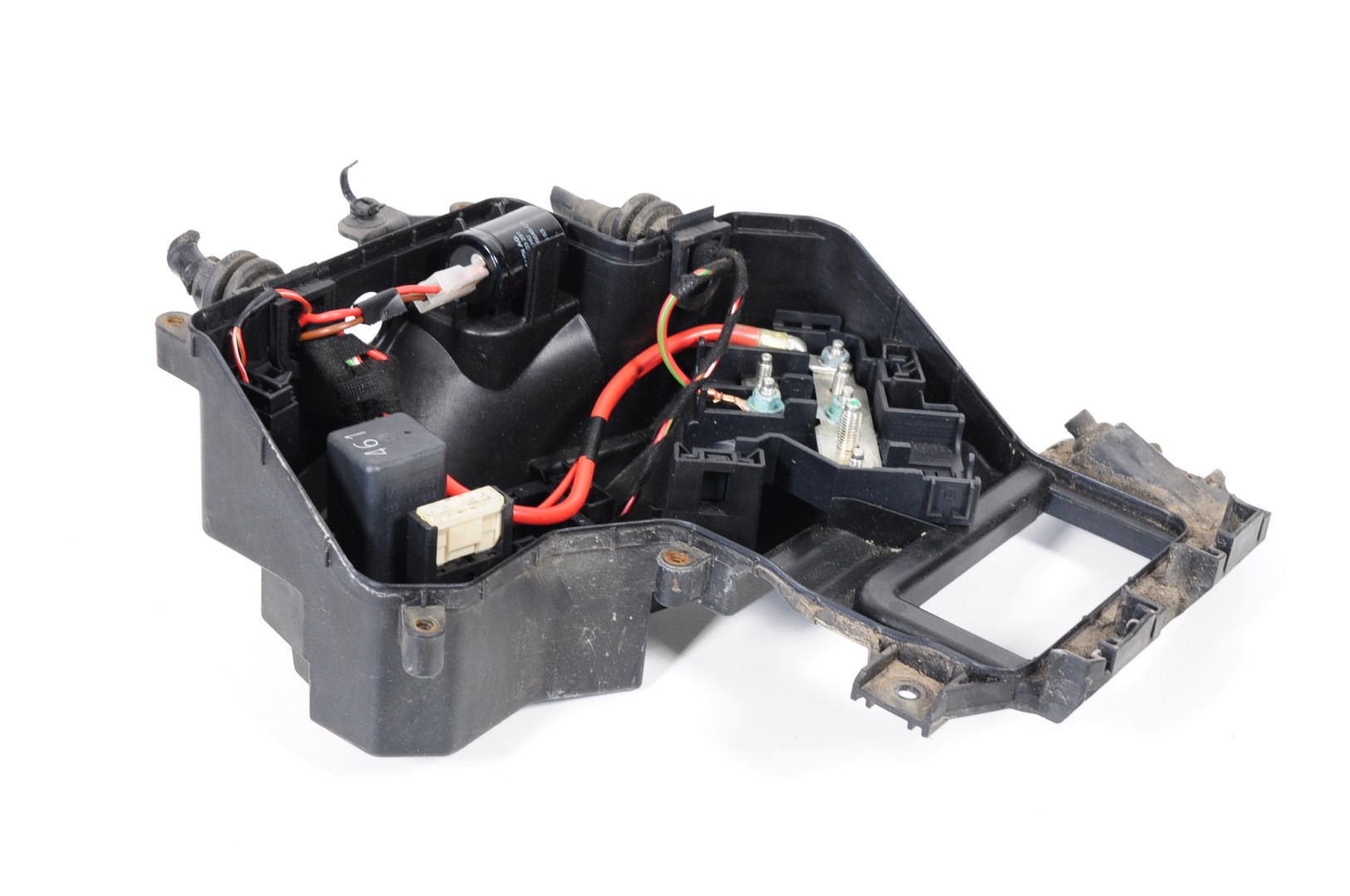 Audi A6 C6 4f 20 Tdi Avant 2006 Rhd Engine Bay Fuse Box 4f0941824 Image Is Loading 2 0