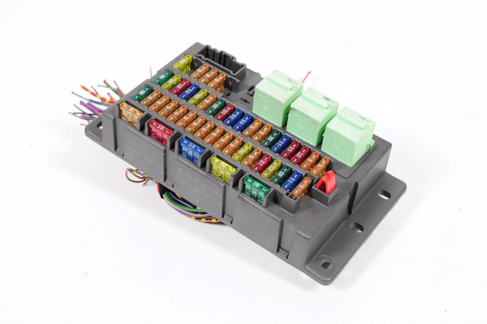 mini cooper s r53 2004 rhd interior fuse box board 6906600